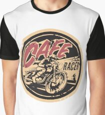 The Official Cafe Racer TV Logo Graphic T-Shirt