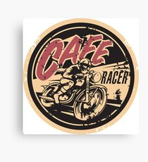 The Official Cafe Racer TV Logo Canvas Print