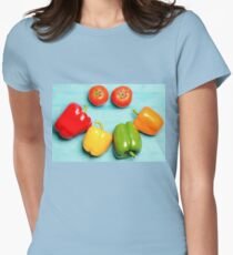 Vegetable Smile :D  Women's Fitted T-Shirt
