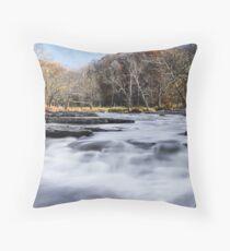 Mill Creek Whitewater Throw Pillow