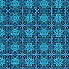 Blue Lattice - Pattern of Life by Rasendyll