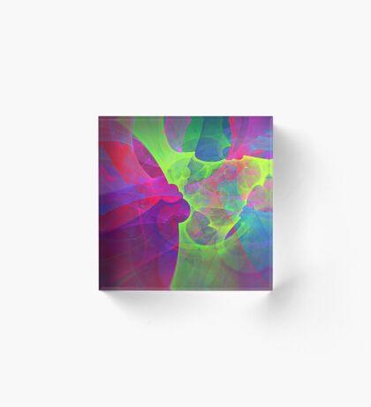 #Fractal Art Acrylic Block