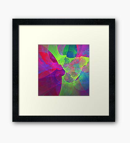 #Fractal Art Framed Print