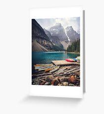 Moraine Lake Greeting Card