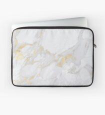 Marmor mit Gold Laptoptasche