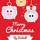 Furball Christmas by LorielDesign