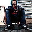 Skateboard Kid by BonnieToll