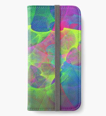 #Fractal Art iPhone Wallet