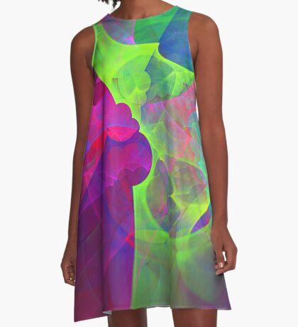 #Fractal Art A-Line Dress