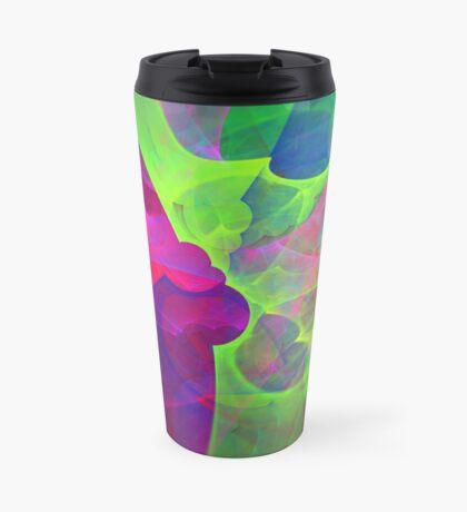 #Fractal Art Travel Mug