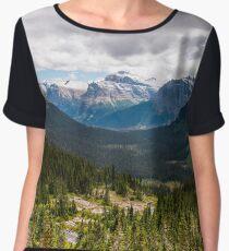 Glacier National Park Chiffon Top