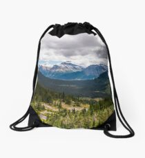 Glacier National Park Drawstring Bag