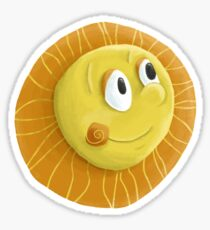 My little sunshine Sticker