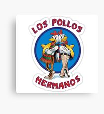 Breaking Bad - Los Pollos Hermanos Canvas Print