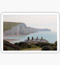 Seven Sisters Coastguard Cottages Sticker