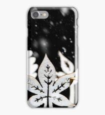 Fantasy winter snow scene  iPhone Case/Skin