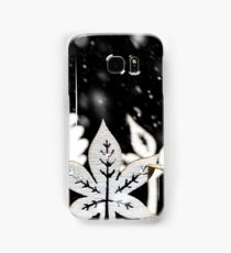 Fantasy winter snow scene  Samsung Galaxy Case/Skin
