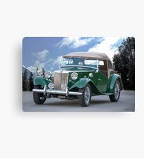 1953 MG TD Roadster Canvas Print