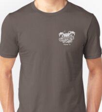 Pair A Dice, Pocket Logo - White Unisex T-Shirt