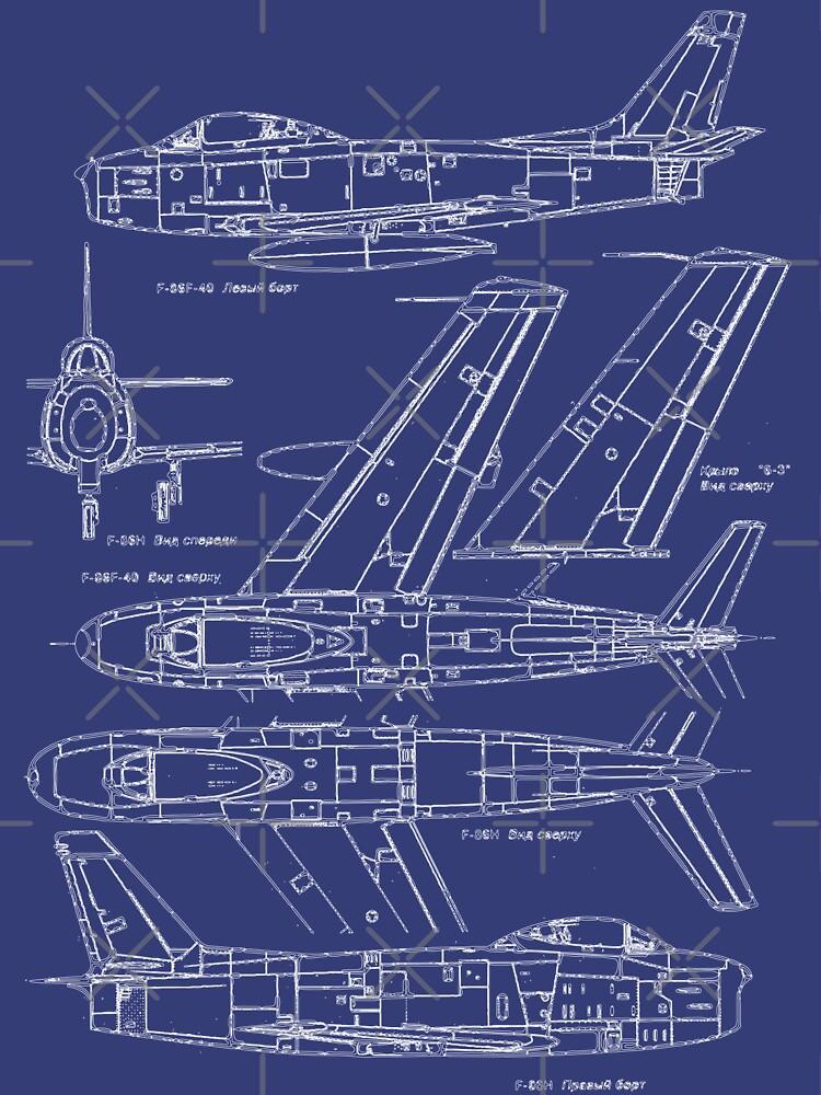 F-86 Concept Blueprint by DarkHorseDesign