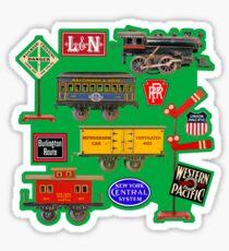Toy Trains Sticker