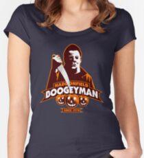 Haddonfield Boogeyman Women's Fitted Scoop T-Shirt