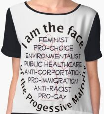 I am the Progressive Majority 01 Chiffon Top