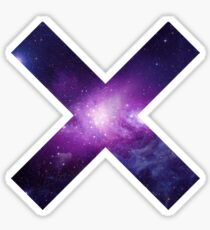 The XX Logo (Galaxy Print) Sticker