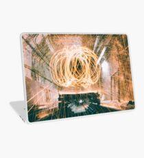 Spinning Underground  Laptop Skin