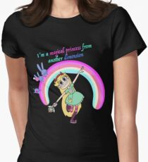 Star vs the forces of evil Womens Fitted T-Shirt