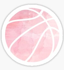 Basketball Pink Sticker