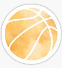 Basketball Orange Sticker