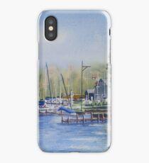 Port Stanley Harbour iPhone Case/Skin