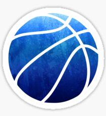 Basketball Dunkelblau Sticker
