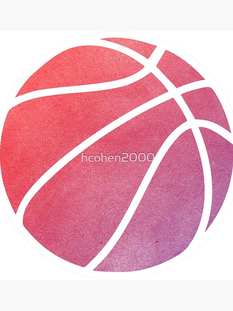 Basketball mehrfarbig von hcohen2000