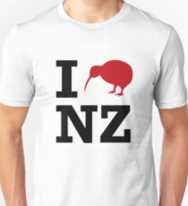 I Love New Zealand t shirt Unisex T-Shirt