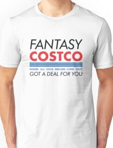 Fantasy Costco Typography Shirt Unisex T-Shirt