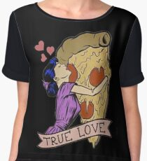 True Love <3 Women's Chiffon Top