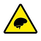 Caution : Brain In Use by d4rkl1gh7