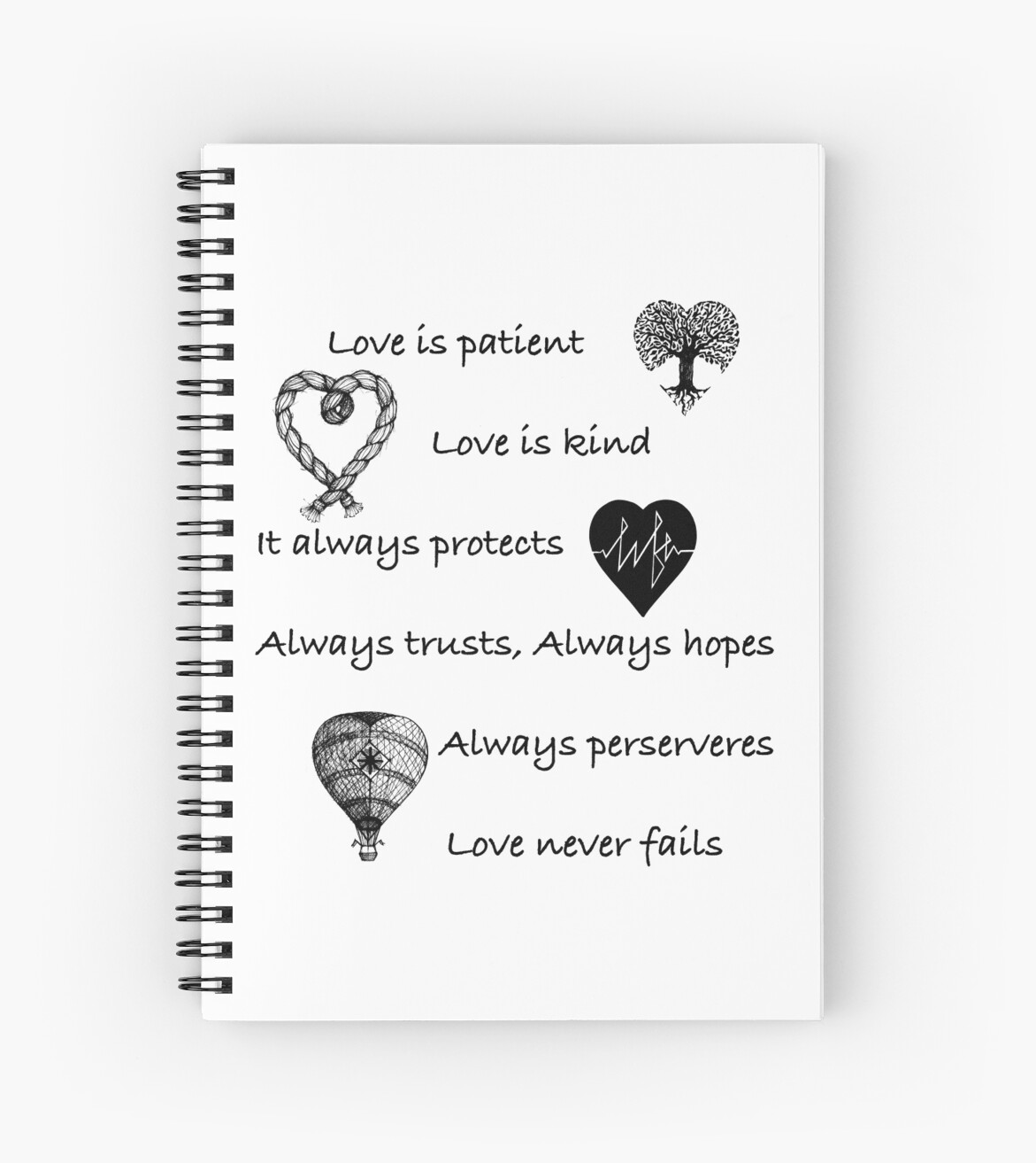 Love is patient...(with hearts) by stylecomfy