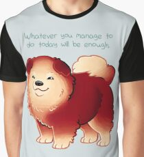 """Whatever You Manage to Do"" Pup Graphic T-Shirt"