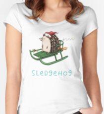 Sledgehog Women's Fitted Scoop T-Shirt