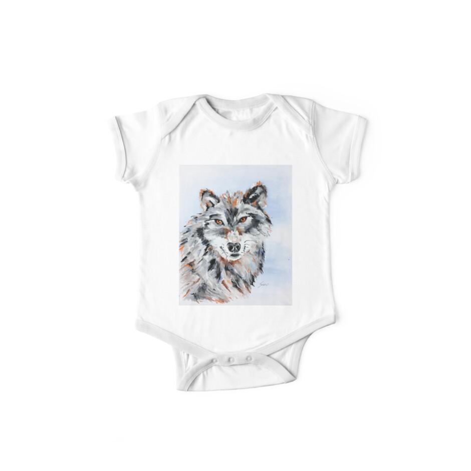 She Wolf - Animal Art by Valentina Miletic by Valentina Miletic Art