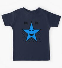Level Up Blue Star Kids Clothes