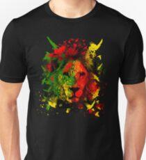 Rasta Löwe Unisex T-Shirt