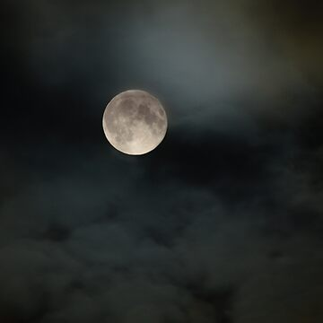 Moon in a Scottish Night Sky by whirl