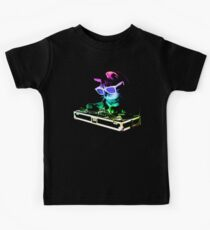 HOUSE CAT (Rainbow DJ Kitty) Kids Tee
