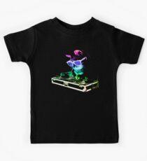 HAUS CAT (Regenbogen DJ Kitty) Kinder T-Shirt