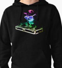 HOUSE CAT (Rainbow DJ Kitty) Pullover Hoodie