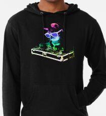 HAUS CAT (Regenbogen DJ Kitty) Leichter Hoodie
